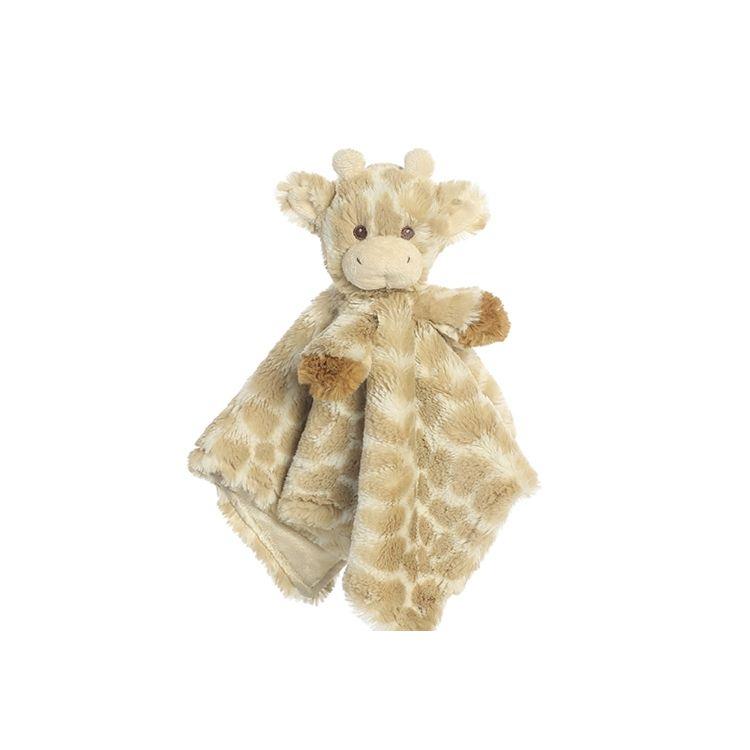 Kundenspezifische Nette Weiche Baumwolle Tier Kopf Baby Decke Stock Lot