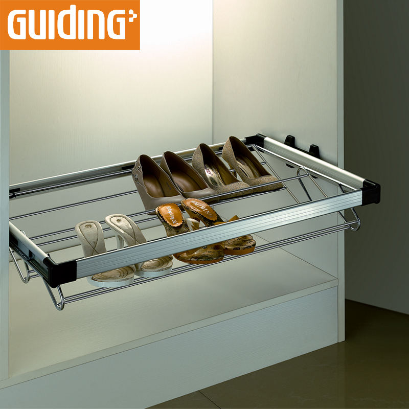 Slim Long Thin Shoe Organizer Storage Cabinet Rack Pull Out Frame Stainless Steel Shoe Cabinet Boot Rack