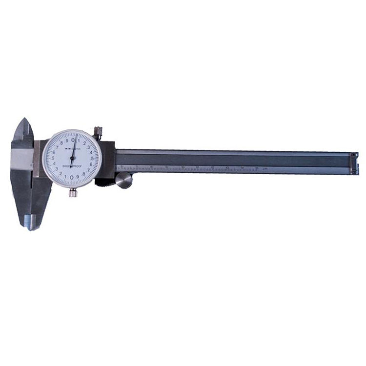 Entirely Hardened 0-200mm Dial Steel Vernier Caliper