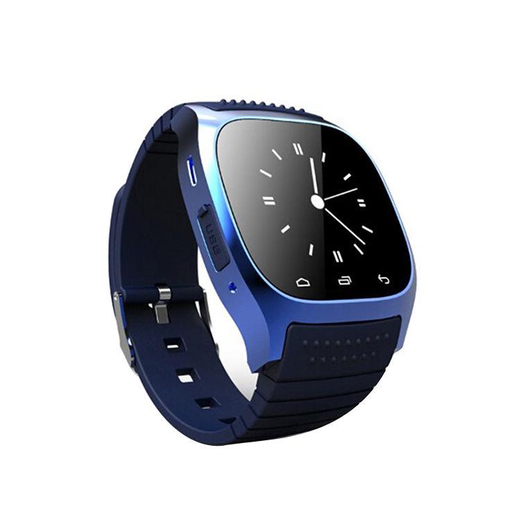 スマート腕時計スマートウォッチ M26 Led ディスプレイ Alitmeter 音楽プレーヤー歩数計アンドロイド Ios の携帯電話