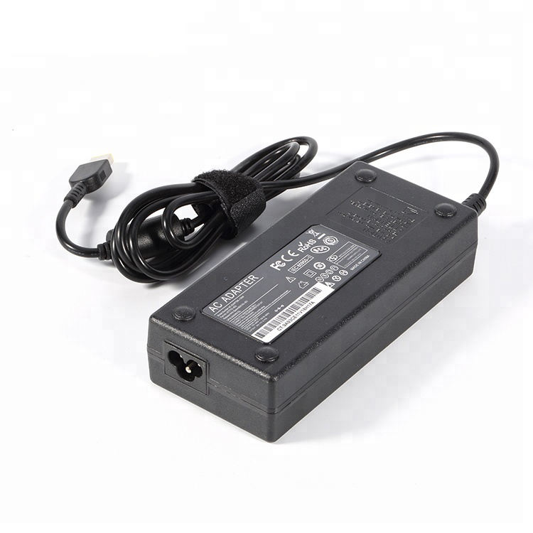 20v 6.75a 120w ac adaptador dc adaptador de viaje con un rayo