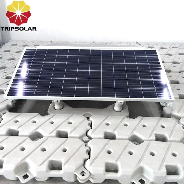 HDPE Floating solar system on water, floating solar platform