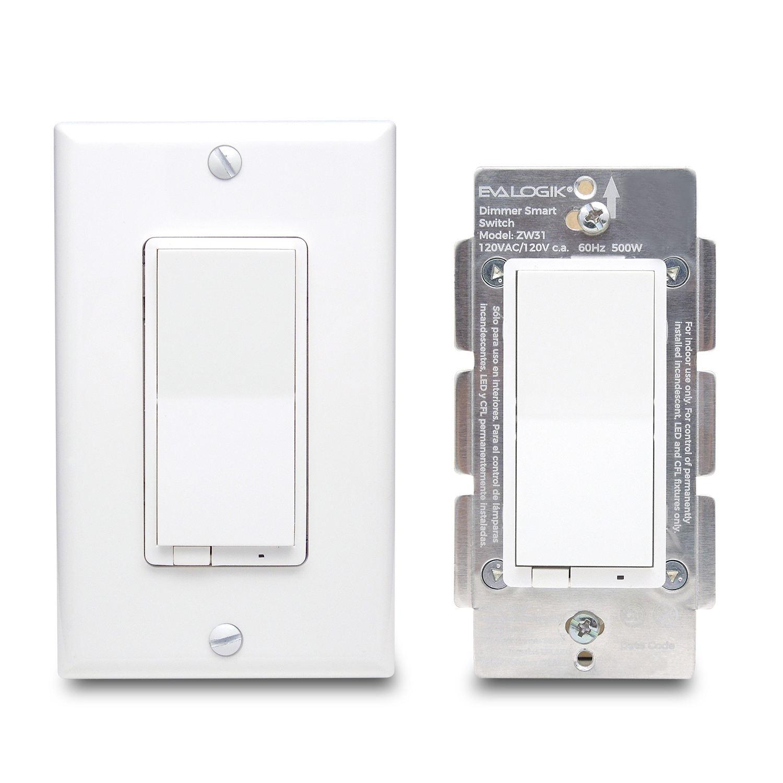 EVA LOGIK regulador WiFi interruptor de luz <span class=keywords><strong>funciona</strong></span> con Alexa y <span class=keywords><strong>asistente</strong></span> de Google y Apple HomeKit