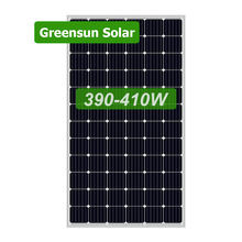 Canadian 72cells PERC Solar Photovoltaic 48v 400w Solar Panel Sun Power