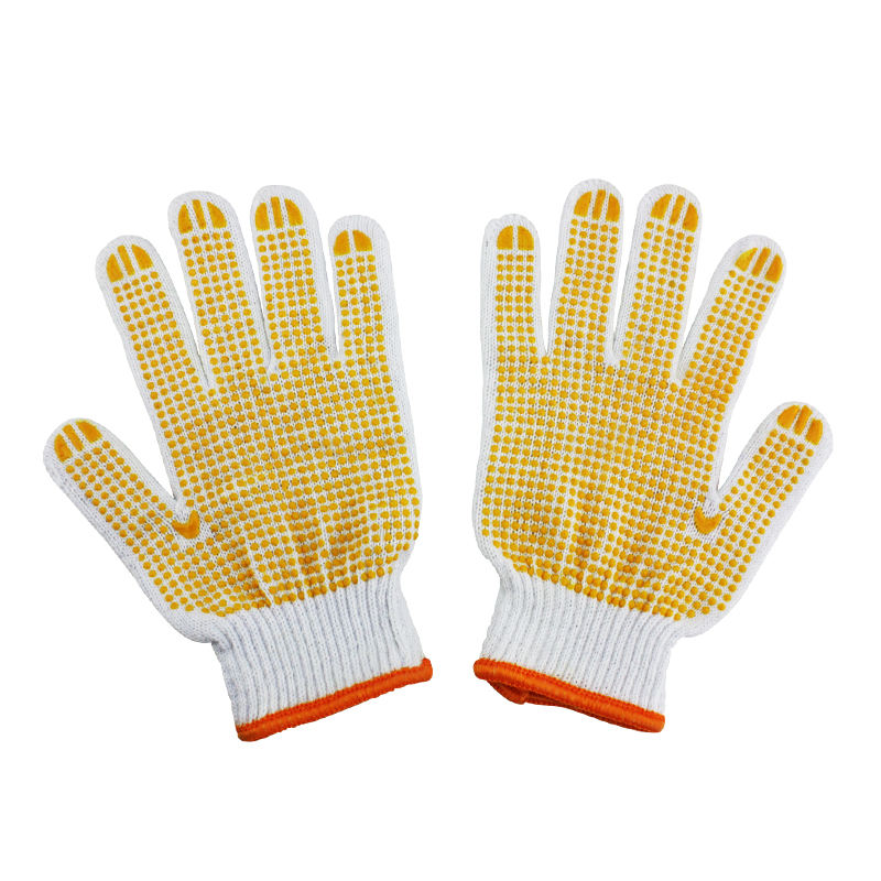 Natural White Work Cotton Gloves construction gloves
