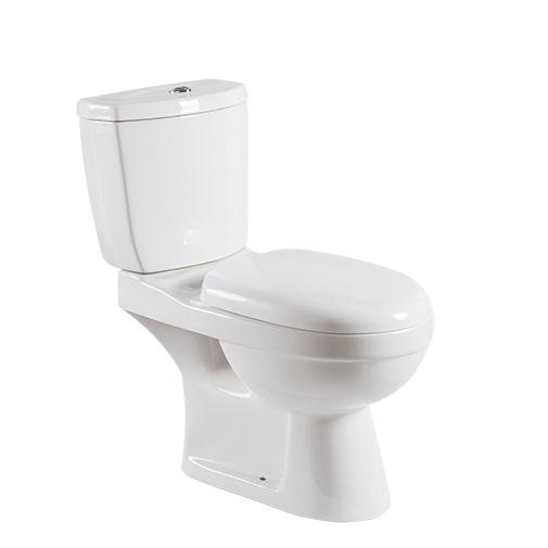 الحمامات البند الصحية معدات مرحاض سيراميك الأبيض مرحاض من قطعتين MJ-2108