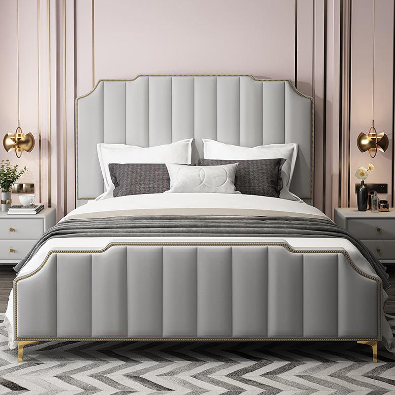 국가 새로운 모델-킹 사이즈 침대 세트 침실 가구는 현대 스토리지 이탈리아