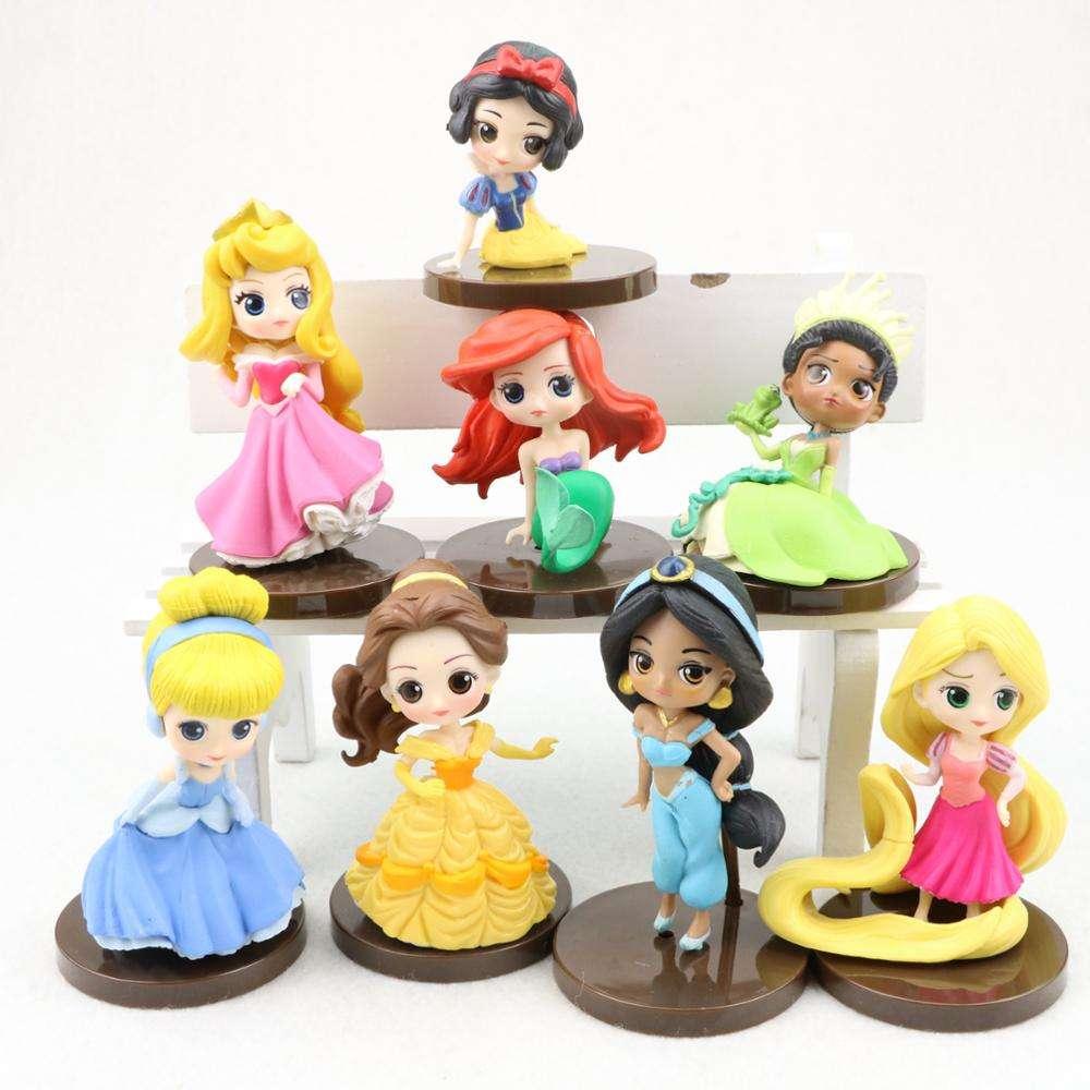شخصيات الأكشن الجميلة من الرسوم المتحركة الشهيرة الأكثر مبيعًا في عام 2018 مكونة من 8 قطعة للأطفال