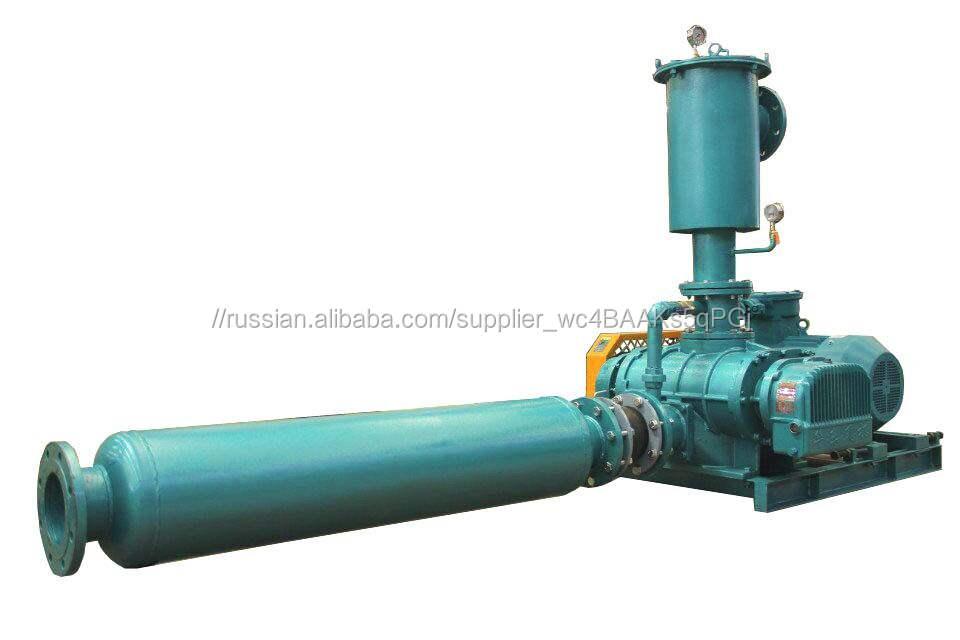 Компрессор для газа,Воздуходувка для биогаза, Воздуходувка РУТC для газа,