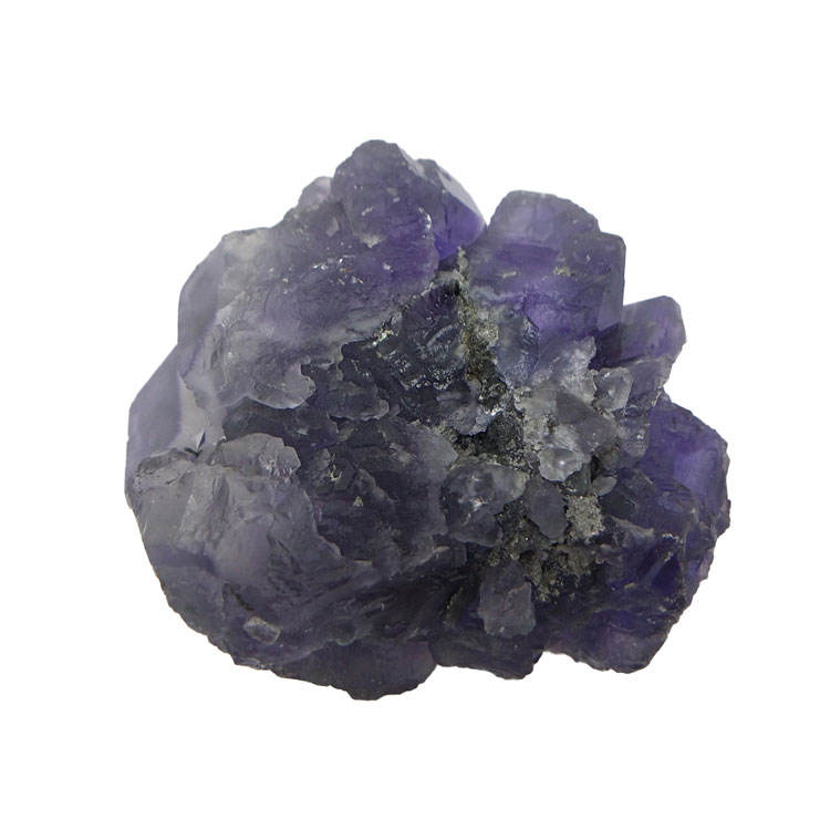 Wholesale Beautiful Natural Raw Stone Purple Fluorite Mineral Specimen Crystal