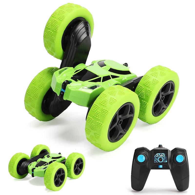 Green Stand rollende Fernbedienung Rowan Cyclone Radio Flipper Fahrzeug Spielzeug Rc Stunt Car 360