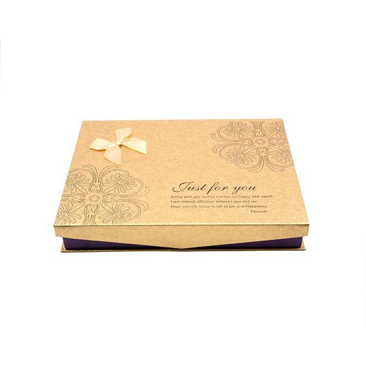 Hochwertige biologisch abbaubare Schokoladen verpackung aus Pappe zum Fabrik preis