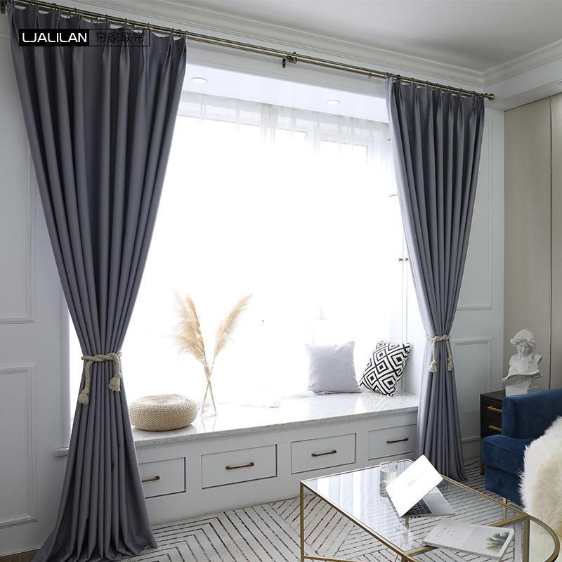リビングルームの熱のために豪華な卸売ヨーロピアンスタイルの遮光カーテンウィンドウ