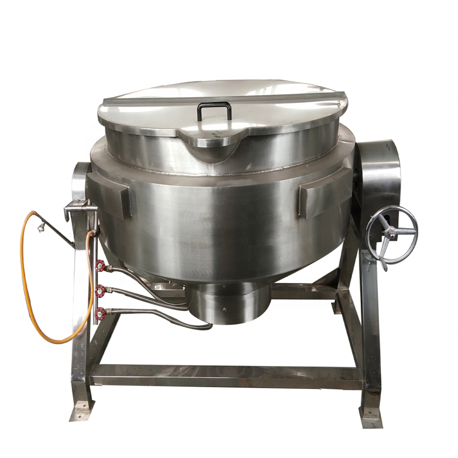 100 liter Industrial Electric Gas Sanitary Jacketed Cooking Pan Kettle Stainless Steel surimi Industrial Pressure Cooker
