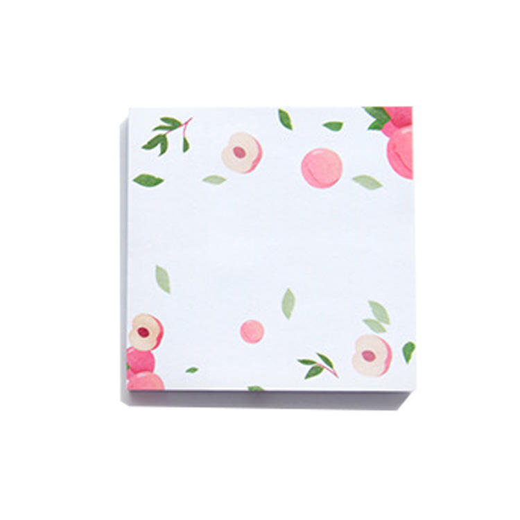 Self-Sticky Note lovely flower Sticky Notes for Office Supply To Do List