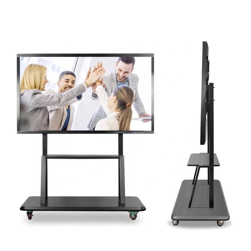 lcd ultra HD flat touch panel all in one intelligent operation computer touch screen monitor