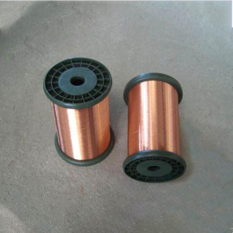 Rectángulo cobre esmaltado alambre bobinado de precio de cobre