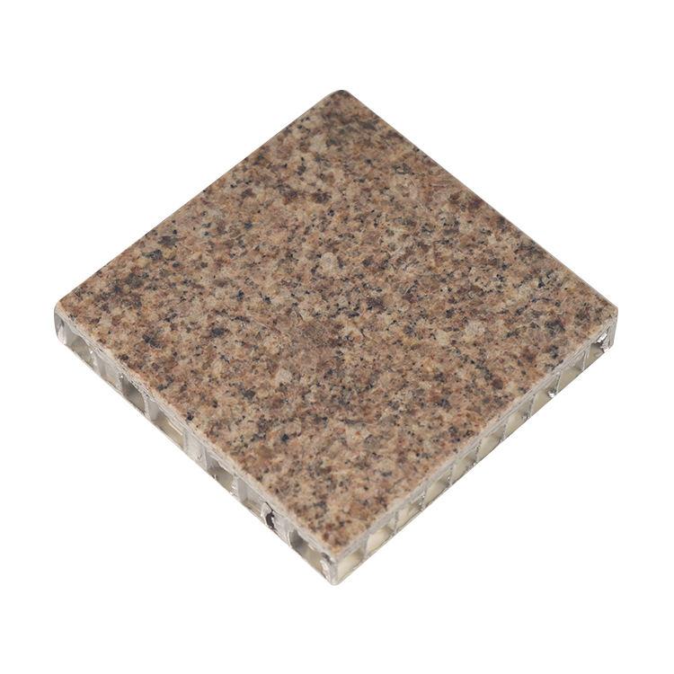 fuego de nido de abeja de aluminio Piedra/mármol/Granito de aluminio panel de nido de abeja de decoración de piedra
