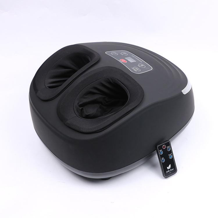 De compresión de aire cómodo masaje terapia de calor la protección de la salud instrumento masajeador de pies