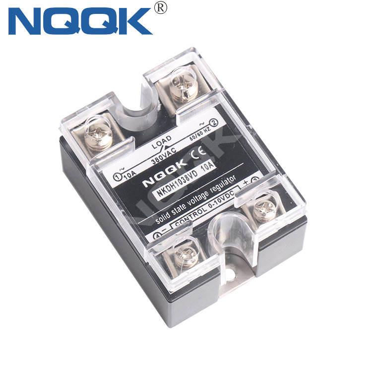 10A 120светодио дный 0-10VDC 380VAC Напряжение Тип однофазный твердотельные реле напряжение Регулятор