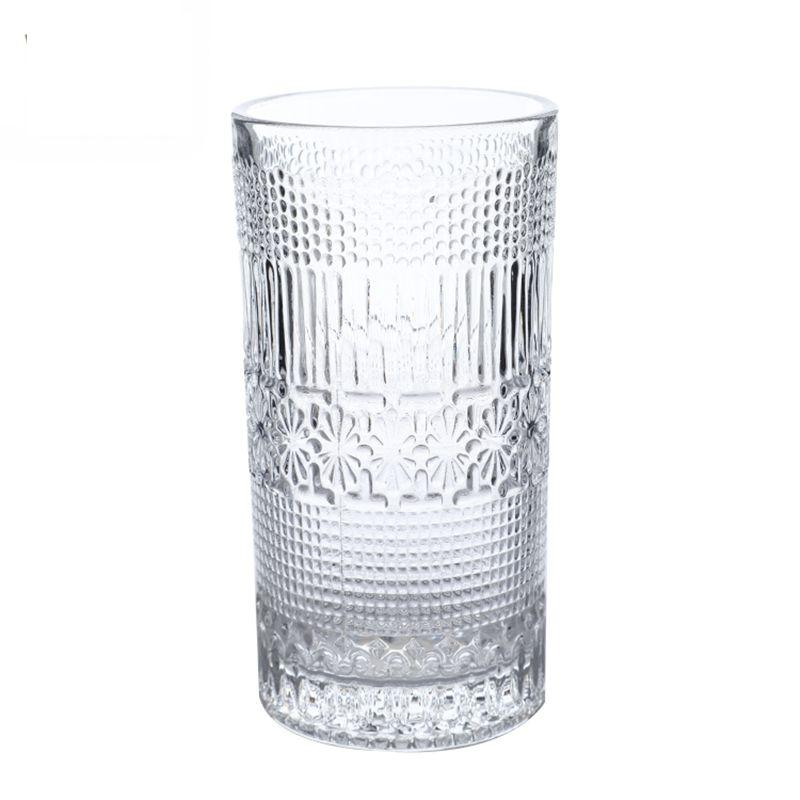 OEM оптовая продажа с фабрики стеклянная пивная чашка Алмазная чашка tealight стеклянная чашка