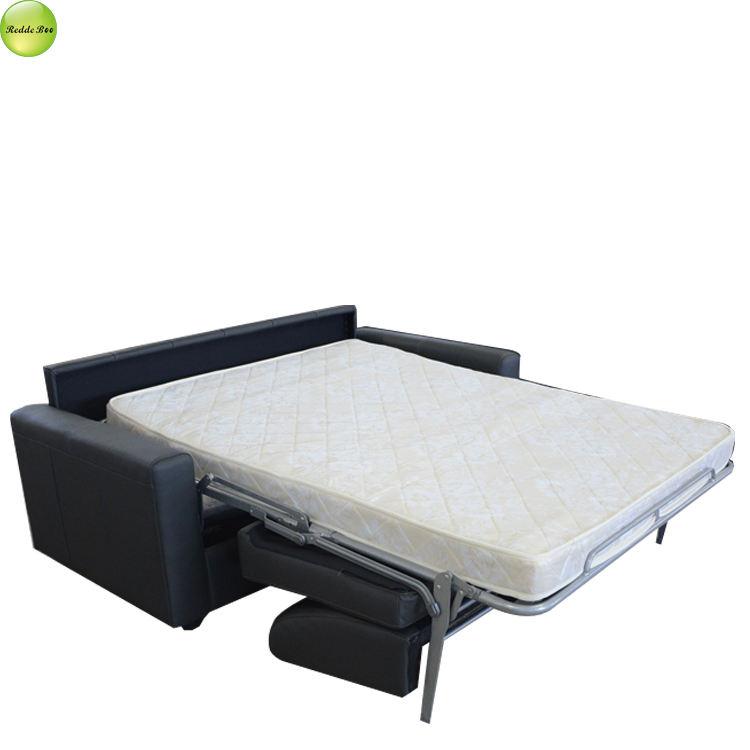 Sofá cama dentro de hierro Marco con el uso de colchón de dormitorio