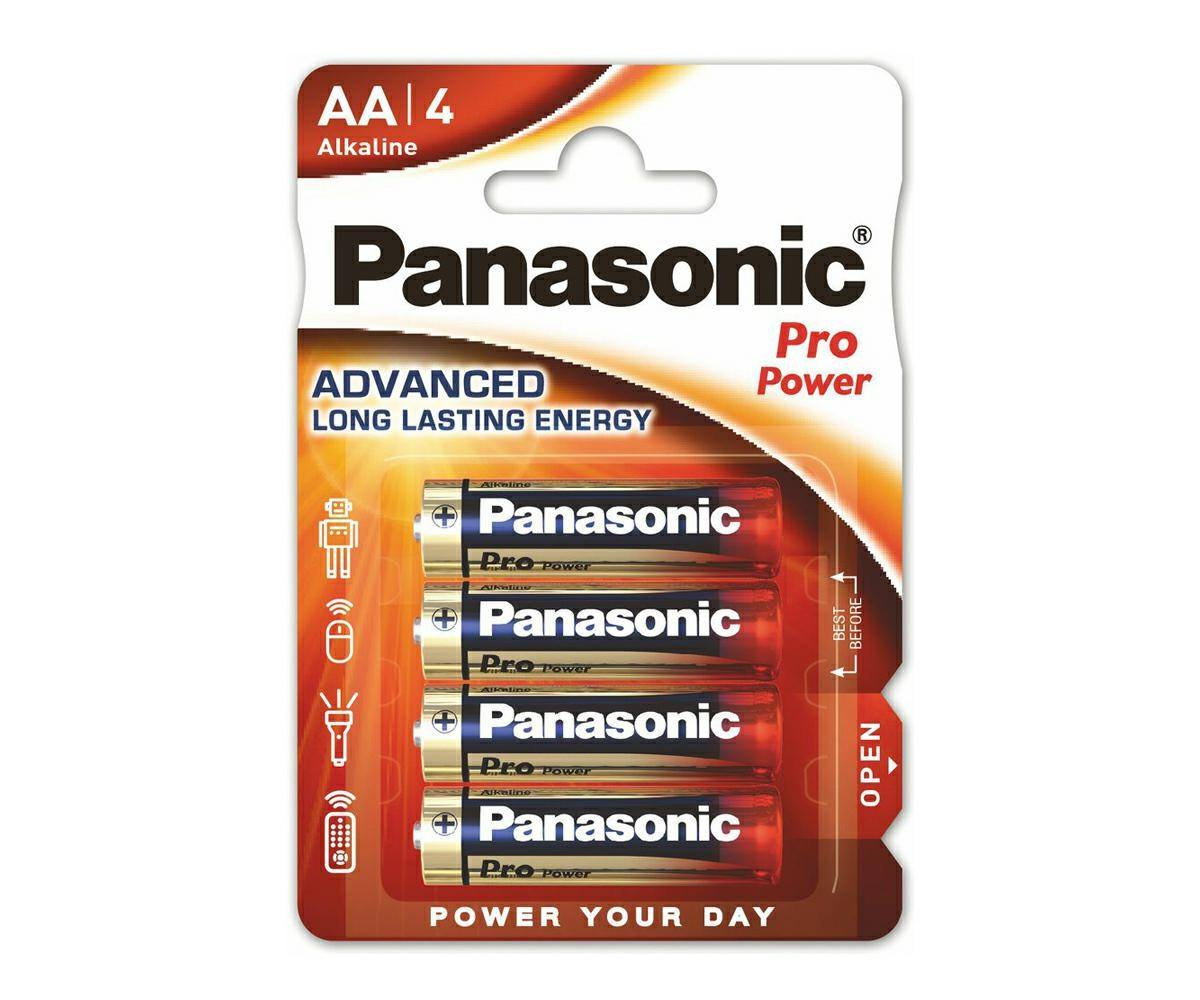 High Quality Alkaline battery LR6 AA Pro Power (4 pieces)