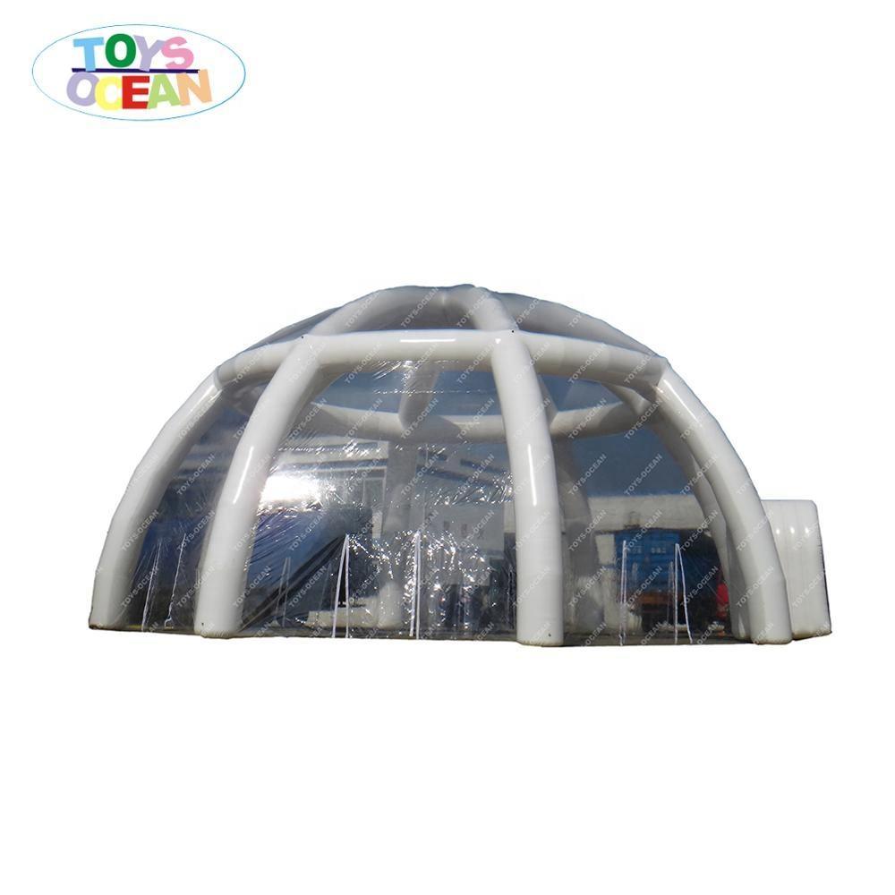 Color del arco iris, tienda inflable, de la <span class=keywords><strong>cúpula</strong></span> de diseño al aire libre mostrar en venta
