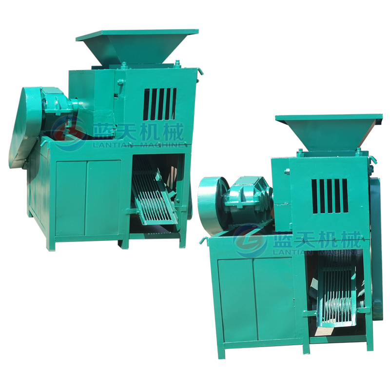 Briquet making small coal coke powder ball press machine for sale