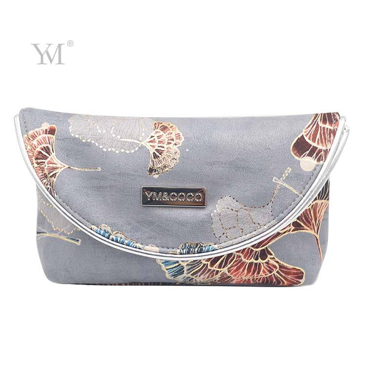 Bags Make Up Custom Logo Velvet Make Up Bag Simple Style Packaging Beautiful Cosmetic Bag