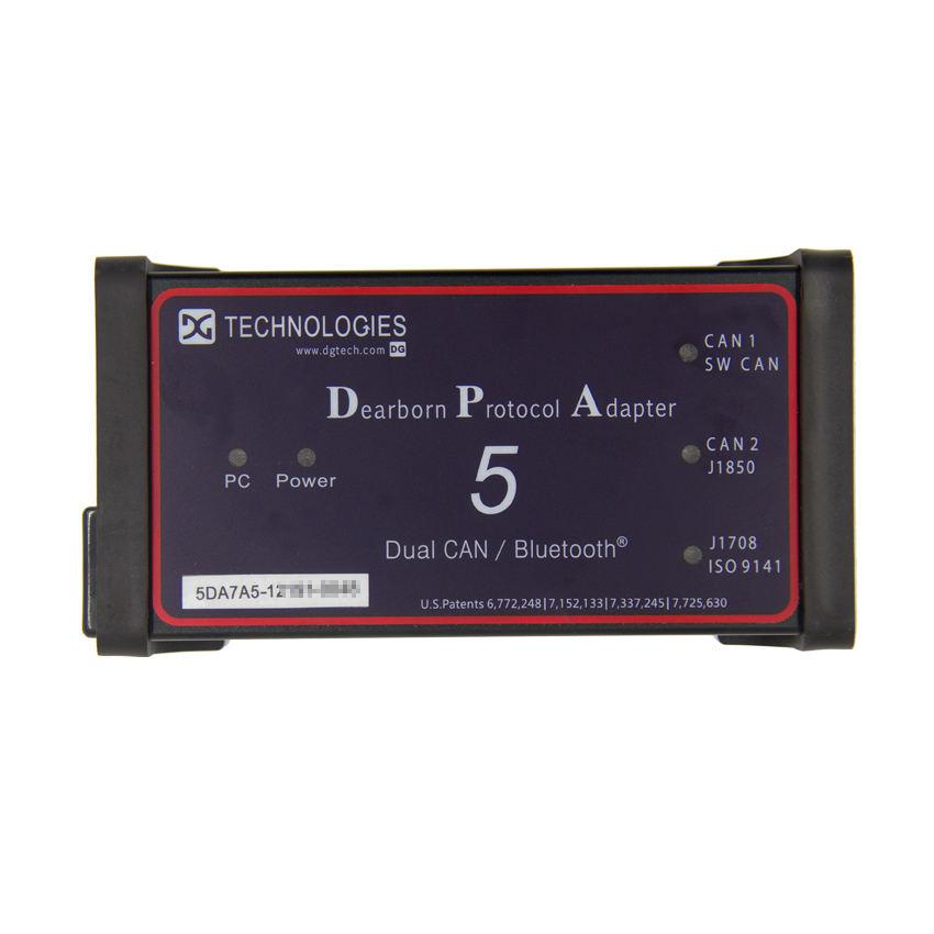 최신 DPA5 Dearborn 프로토콜 어댑터 5 헤비 듀티 트럭 진단 스캐너 지원 볼보 트럭