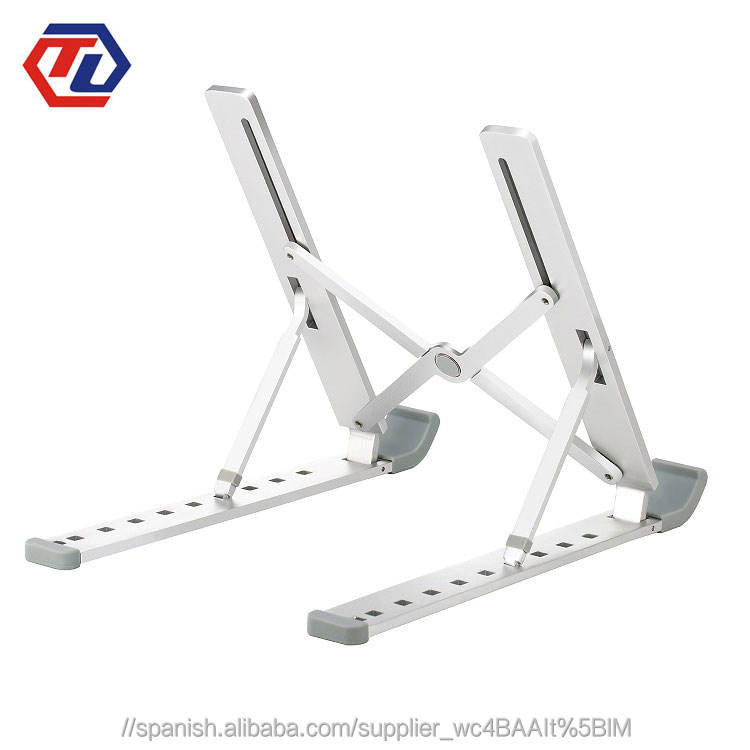 <span class=keywords><strong>Personalizado</strong></span> ergonómico para portátil de aluminio plegable ordenador soporte ajustable portátil elevador portátil soporte
