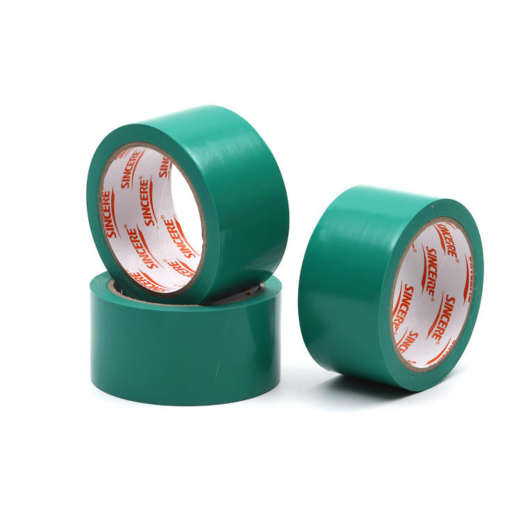 0.13 ミリメートル × 48 ミリメートル × <span class=keywords><strong>33</strong></span> メートルの熱収縮テープ pvc 電気ジャンボロール絶縁テープ