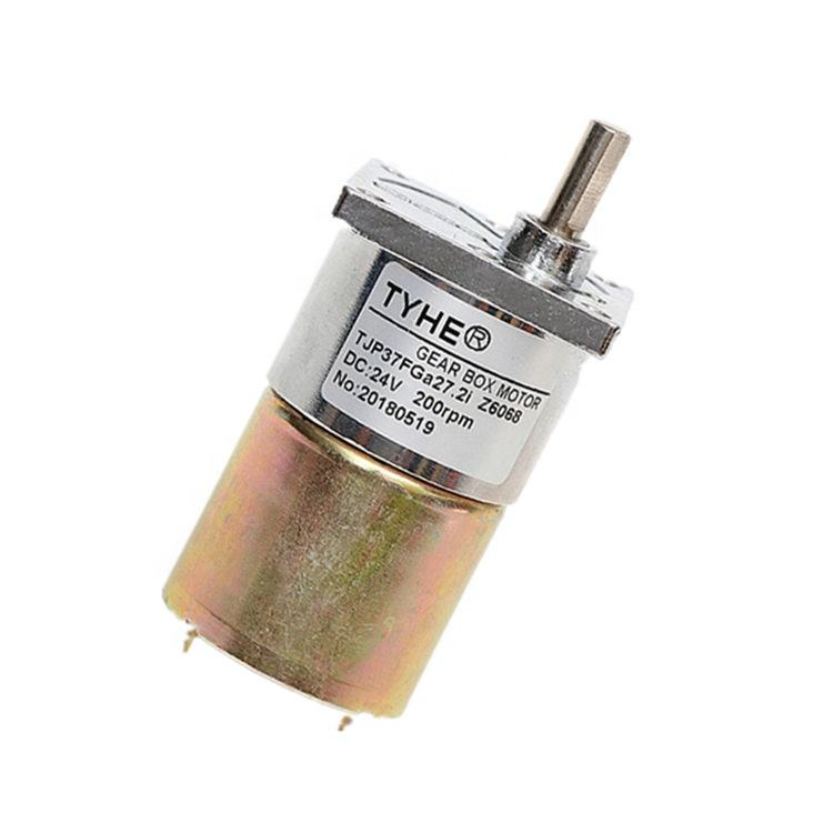 Geschwindigkeit einstellbar mini D37mm 12 <span class=keywords><strong>volt</strong></span> 1000 rpm dc motor mit getriebe und CE ROHS zertifizierungen