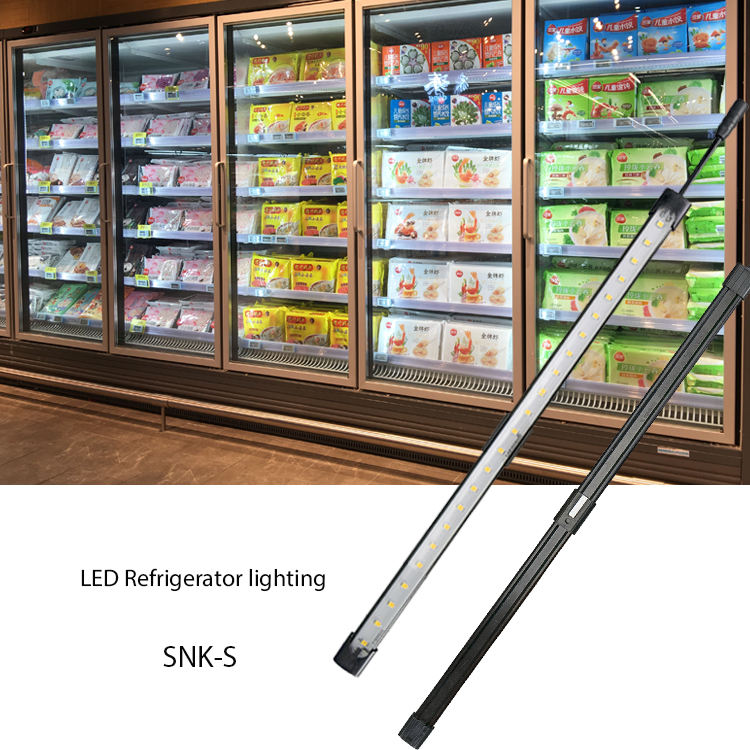 Customized Design 8.4W IP65 Waterproof led light tube for refrigerator lighting