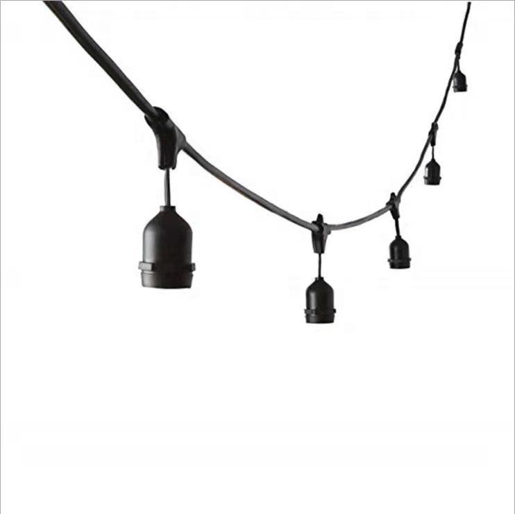 Iluminação Decorativa de <span class=keywords><strong>natal</strong></span> Lingts IP65 E27 Suporte Da Lâmpada Para LED Fada Cordas