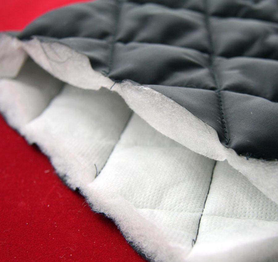Anti-estática chaquetas de ropa de cama de 300T de poliéster acolchado <span class=keywords><strong>tela</strong></span> de tafetán para colchas