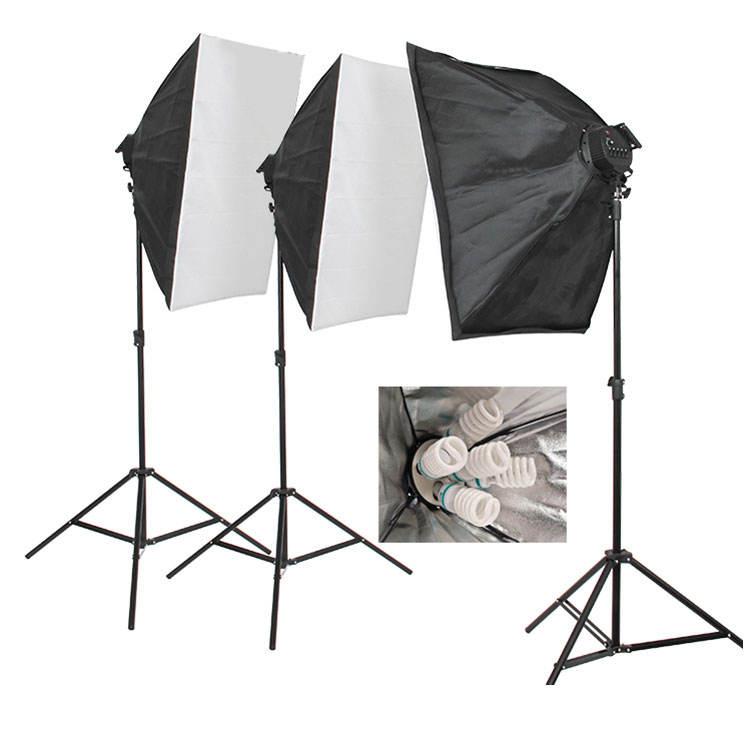 5 La cabeza paraguas de luz 60x90cm foto softbox kit de luz