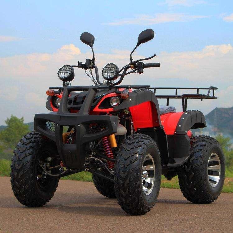 Nuevo y poderoso rápido 3000W adultos gran ATV eléctrico con gancho de remolque de granja