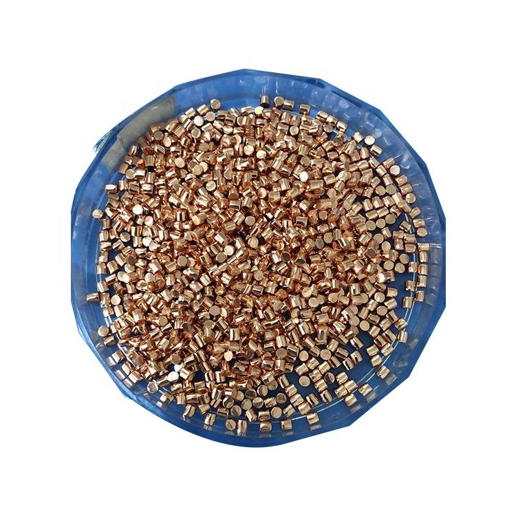 Factory Price Customize High Purity 99.999% Copper Granules For Evaporation