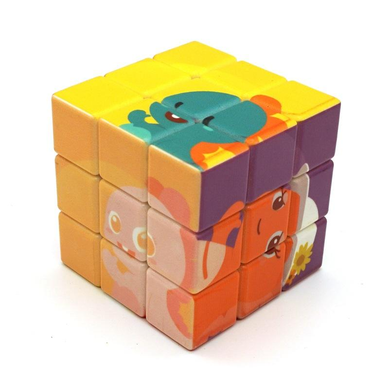 Square solve 3x3x3 promotional advertising magic cube Promotional