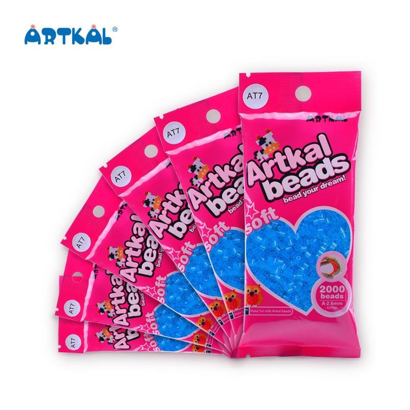 Artkal plástico tabla fusibles hama beads para ilustraciones niños Juguetes