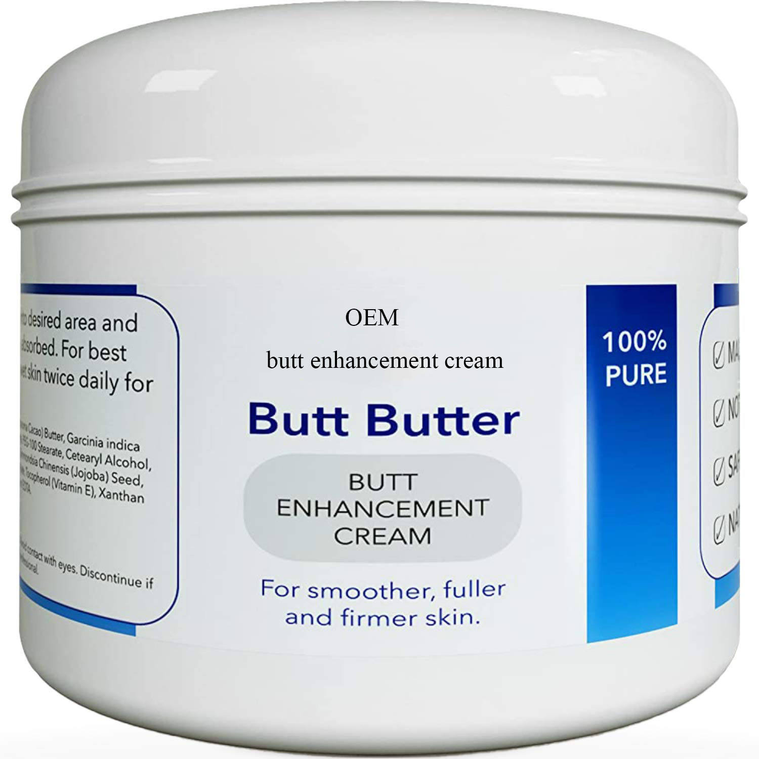 Private Label Natural Bum Enlargement For Women Firming Hip Butt Enhancement Cream
