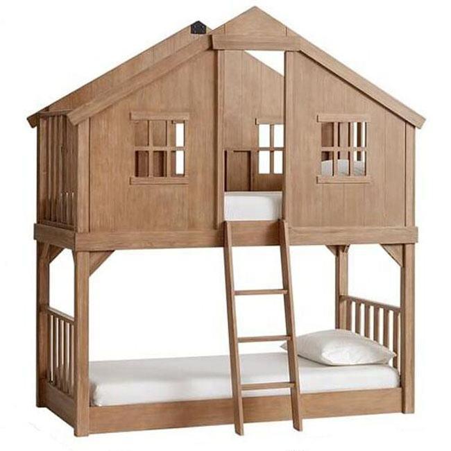뜨거운 제품 어린이 이층 침대 가구 디자인 나무 더블 데커 침대