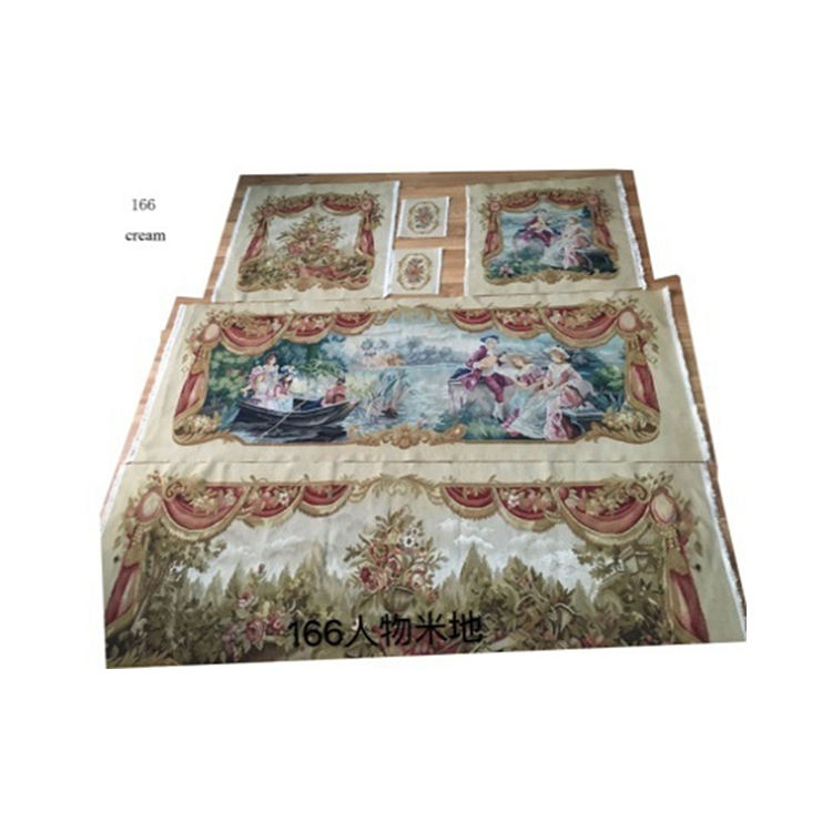 Ihracat hindistan türkiye yüksek kaliteli mobilya koruyucu antistatik el nakışı goblen kanepe kılıfı stokları