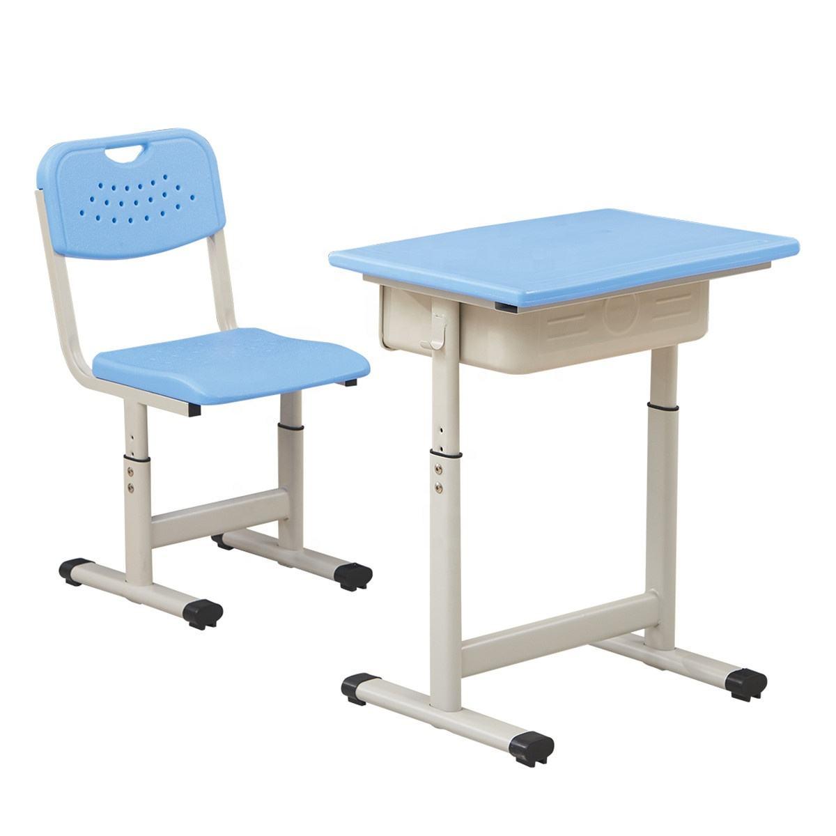 Höhe Einstellbar Schule <span class=keywords><strong>Campus</strong></span> Schreibtisch Und Stuhl Set Student <span class=keywords><strong>Möbel</strong></span>