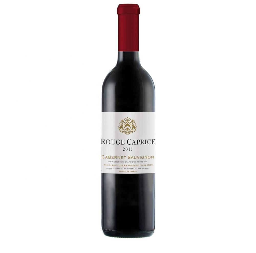Rouge Caprice Cabernet Sauvignon red IGP PAYS D OC High quality red wine from France