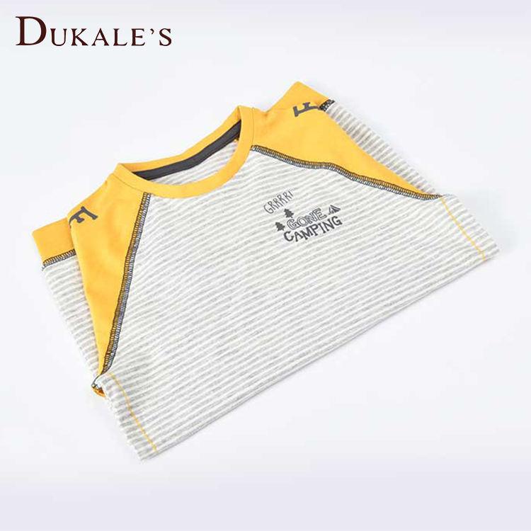 ов желтая, серая футболка с длинными рукавами, размер M, весна-осень, Детская футболка в полоску