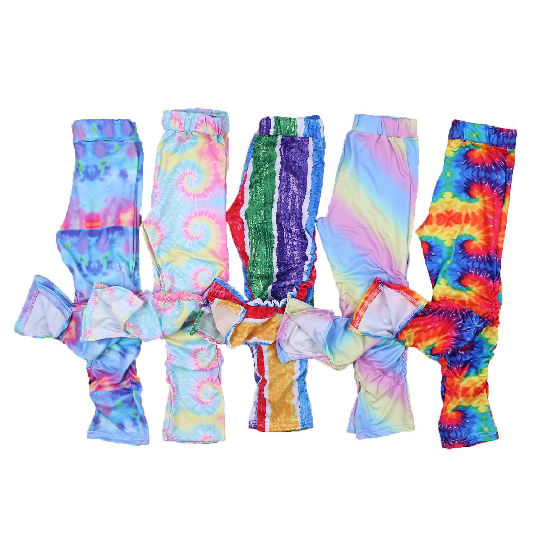 крутые обтягивающие летние штаны для девочек, повседневные штаны, плиссированные штаны для маленьких девочек