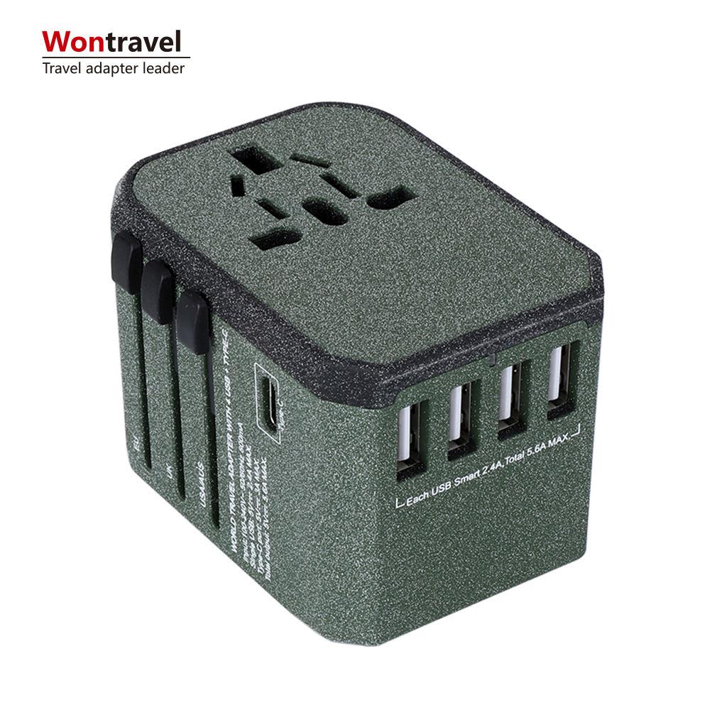 LA plus nouvelle CE ROHS FCC Mural USB prise Électrique Adaptateur De Voyage Chargeur Adaptateur